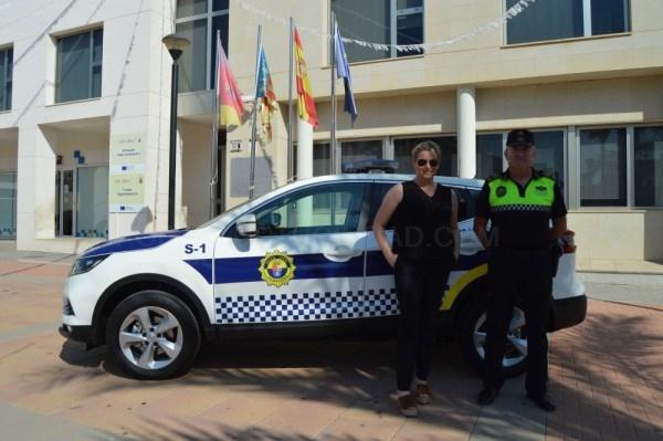 La Policía Local de Albatera renueva su parque móvil con la adquisición de un nuevo vehículo