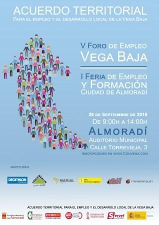 I Feria de Orientación de Empleo y V Foro de Empleo de la Vega Baja