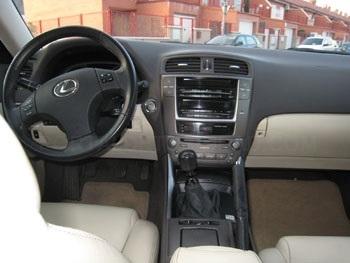 Lexus IS220 D Luxury, diésel, 177cv.