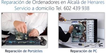 Reparación de Ordenadores en Alcalá de Henares