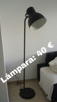 VENDO SOFA, LAMPARA, MESA Y SILLAS