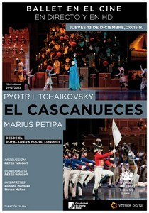 El Cascanueces, en el Royal Opera House
