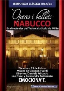 NABUCCO desde Scala de Milan