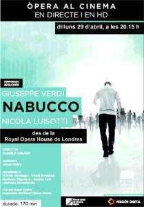NABUCCO   IV temporada d'òpera i ballet al cinema