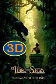 El libro de la selva (2016) - DIGITAL 3D