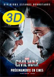 Capitán América: Civil War 3D
