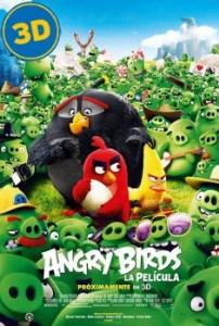 Angry Birds, la película DIGITAL 3D