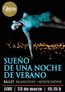 BALLET: SUEÑO DE UNA NOCHE DE VERANO