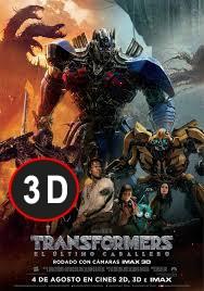 Transformers: El último caballero (3D)