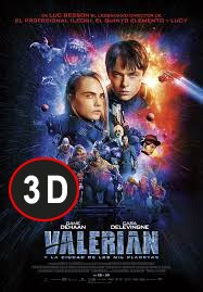 Valerian y la ciudad de los mil planetas (3D)