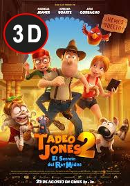 Tadeo Jones 2. El secreto del rey Midas (3D)
