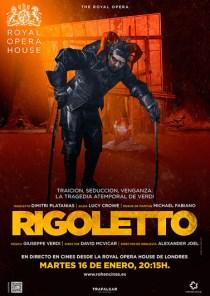 ÓPERA: RIGOLETTO, DESDE LONDRES