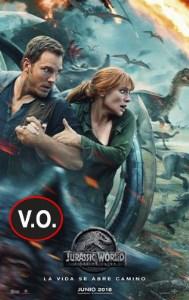 Jurassic World: El reino caído (VOSE)