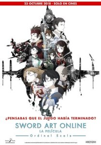 Sword Art Online. La película: Ordinal Scale