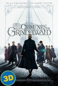 Animales fantásticos: Los crímenes de Grindelwald (3D)