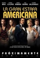 La gran estafa americana (American hustle).