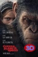 La guerra del planeta de los simios (3D)