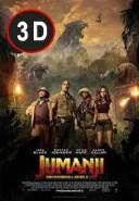 Jumanji: Bienvenidos a la Jungla 3D