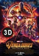 Vengadores. Infinity War 3D